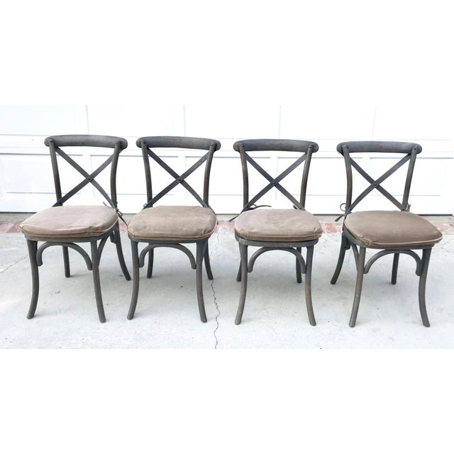 Restoration Hardware Madeleine Side Chairs - Set of 4 - Image 2 of 6