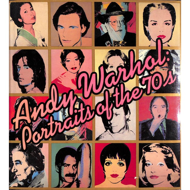 Andy Warhol: Portraits of the 70's Book For Sale In New York - Image 6 of 6