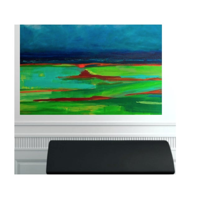 Abstract Landscape Painting by Bryan Boomershine - Image 4 of 4