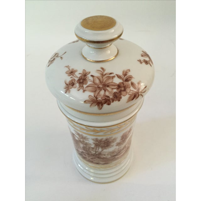 Antique Porcelain Apothecary Jar - Image 3 of 7