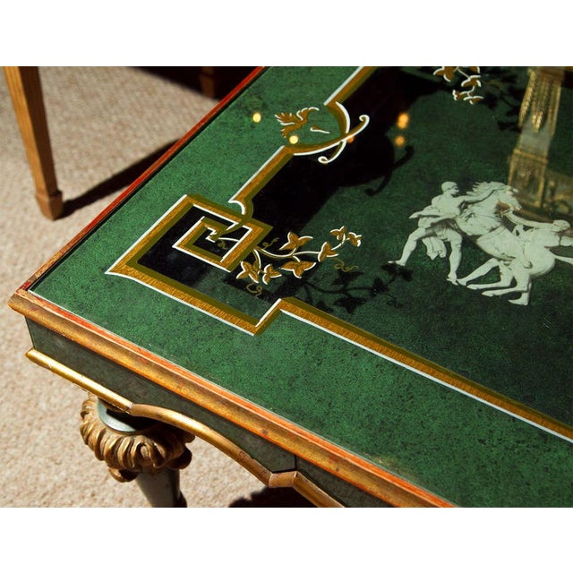 20th Century Fornasetti Style Coffee Table For Sale - Image 5 of 8