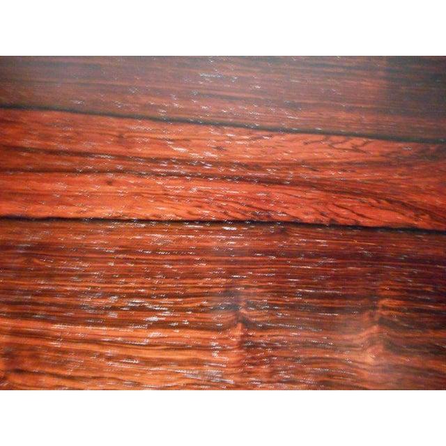 Wood Vintage Edmund Jorgensen Modern Rosewood Draw Leaf Dining Table For Sale - Image 7 of 9