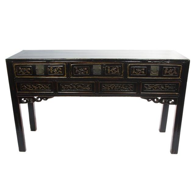 Antique Chinese Black Writing Desk - Antique Chinese Black Writing Desk Chairish