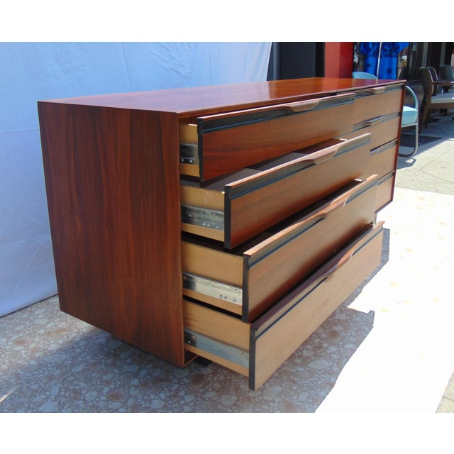 Glenn of California Walnut Dresser - Image 5 of 11