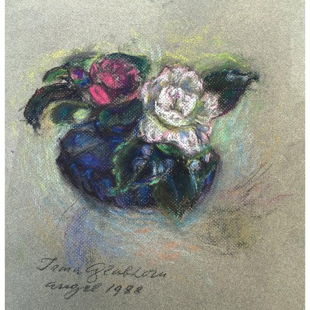 Floral Pastel by Irma Engel Grabhorn - Image 2 of 4