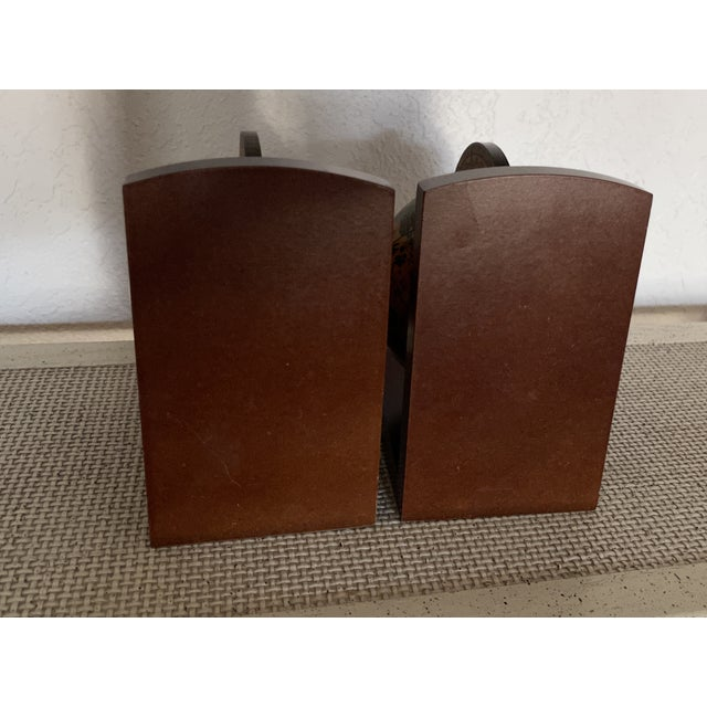 Italian Vintage Old World Rotating Globe Bookends-a Pair For Sale - Image 3 of 6