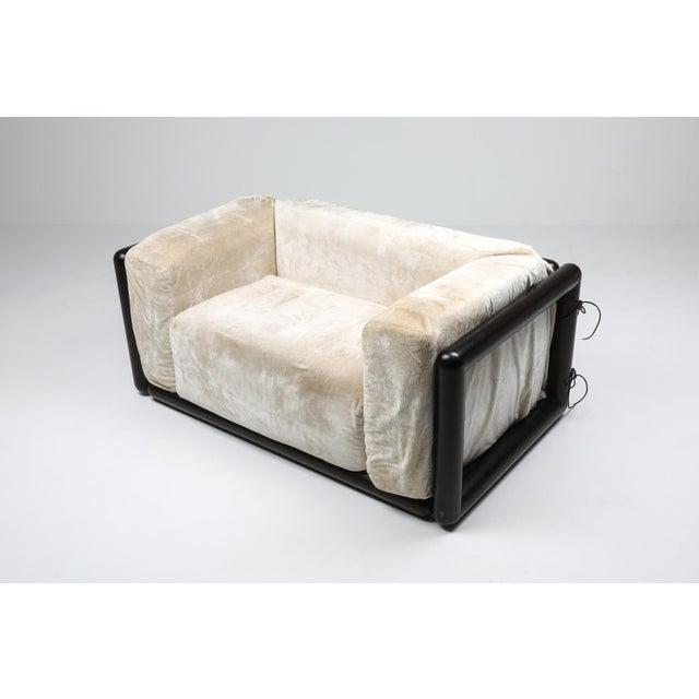 Carlo Scarpa 'Cornaro' Lounge Chair for Simon, 1973 For Sale - Image 9 of 12