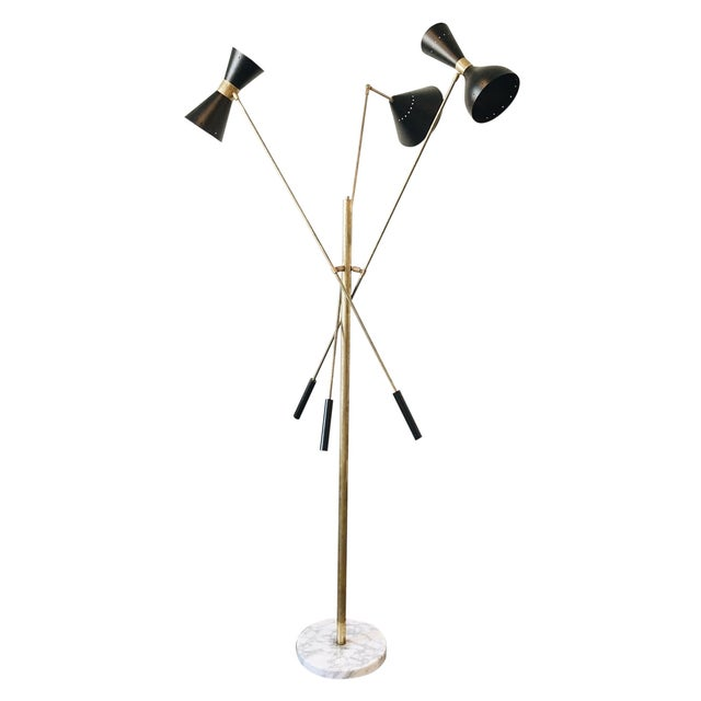 Vintage Italian Floor Lamp - Image 1 of 4