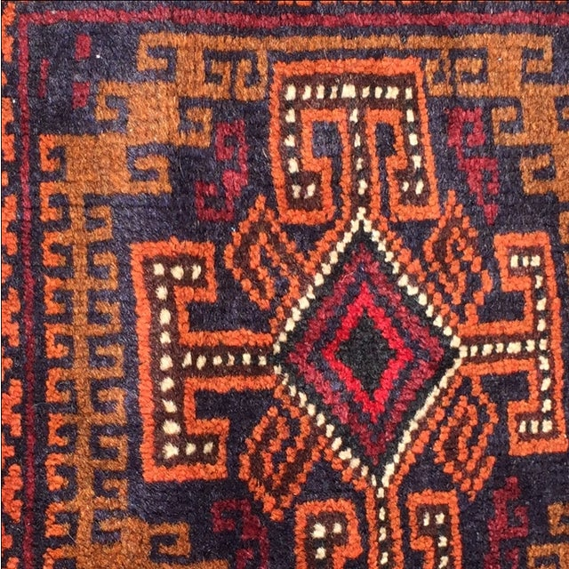 Baluchi Persian Rug - 1′7″ × 2′ - Image 5 of 8