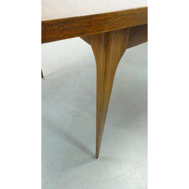 1669e77fed26d 1960s Mid Century Modern Broyhill Brasilia Walnut Expanding Dining Table  For Sale In Orlando - Image