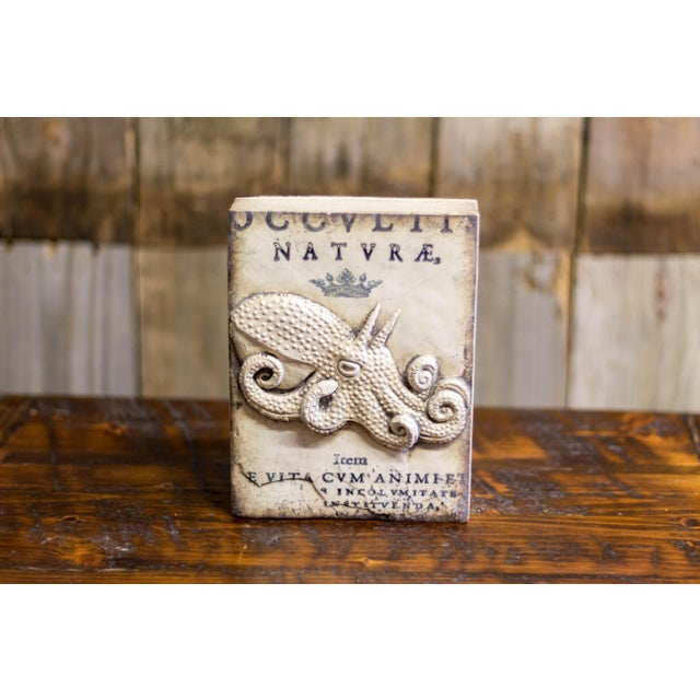 Signed Retired Sid Dickens Memory Block Masquerade Octopus For Sale - Image 4 of 4