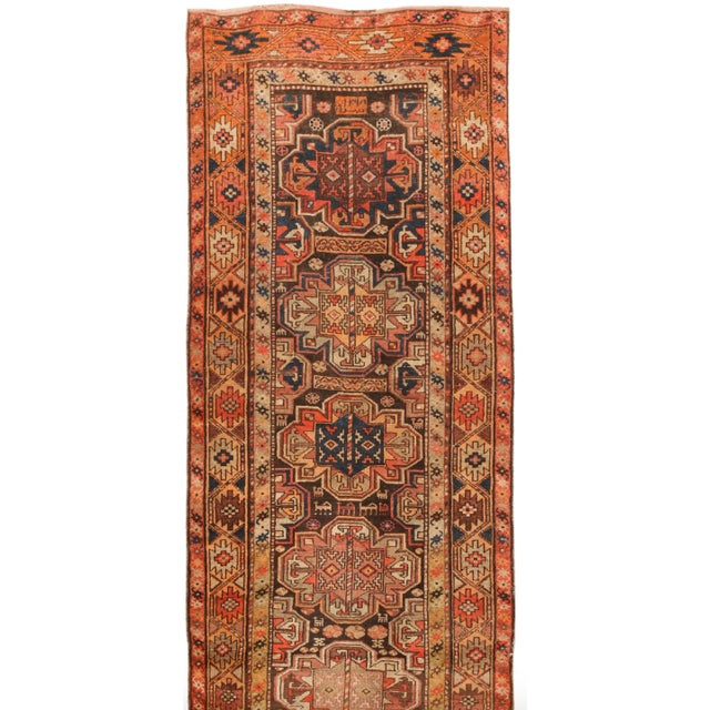Antique Persian Kurdish Runner - Image 1 of 1