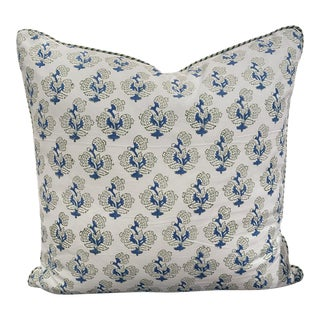 Loni Block Print Pillow For Sale