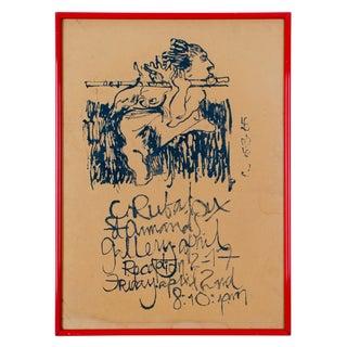 1965 Craig Rubadoux Show Poster
