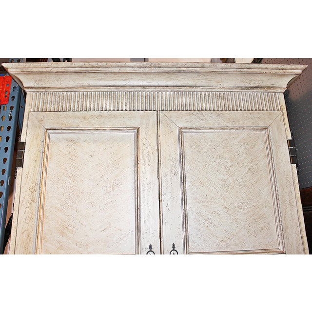 Baker Linen Press Armoire - Image 8 of 12