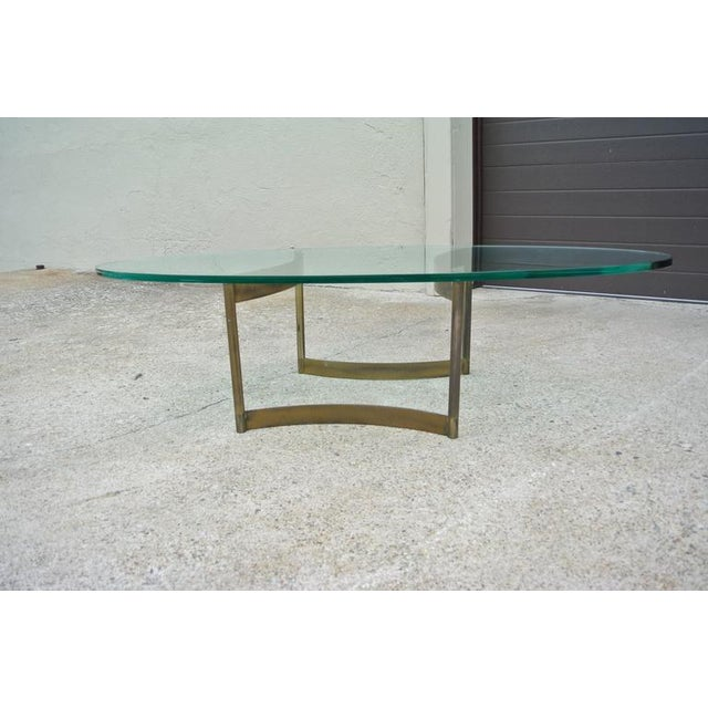 Sculpted Bronze Sufboard Coffee Table - Image 2 of 7