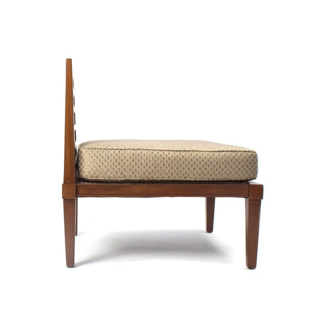 Mid-Century Modern French Mid century Chairs in the Style of Andre Arbus For Sale - Image 3 of 9