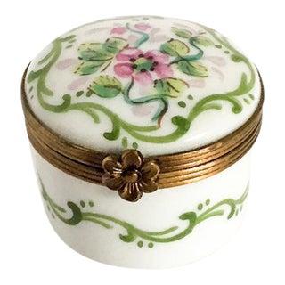 Limoges Rochard Pill Box