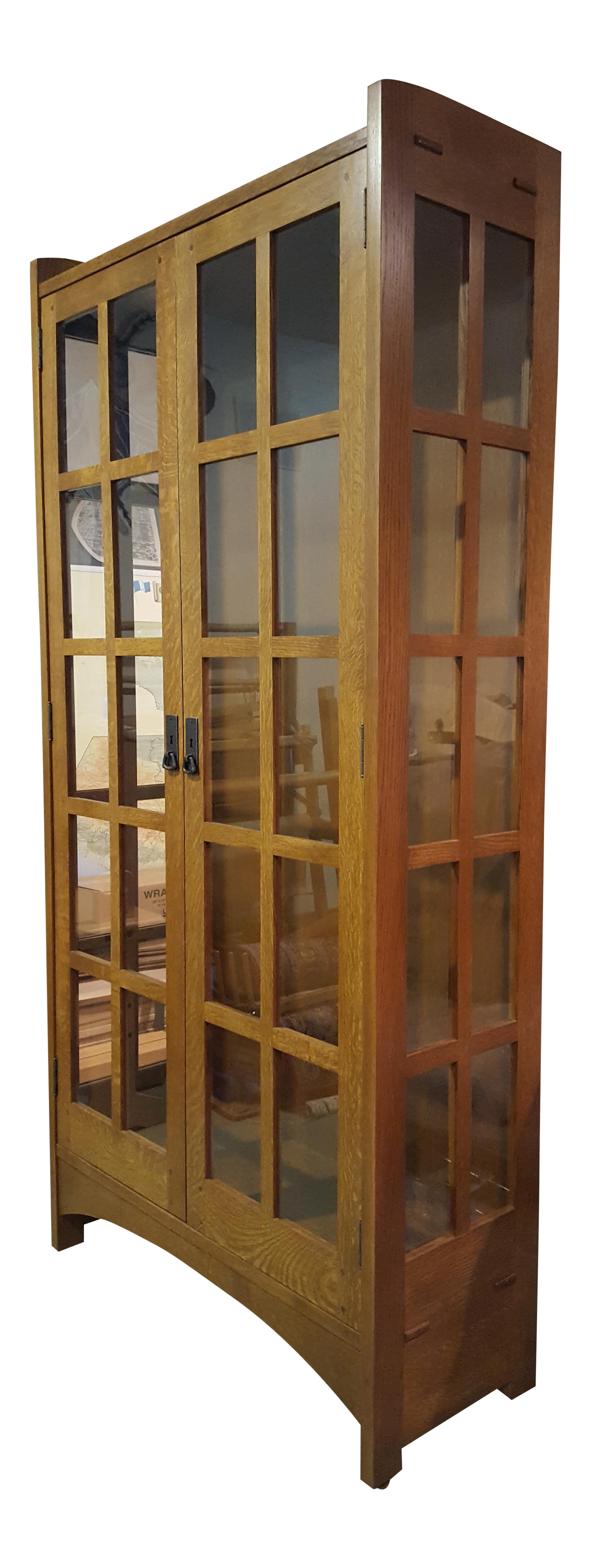 Stickley Mission Style Display Cabinet