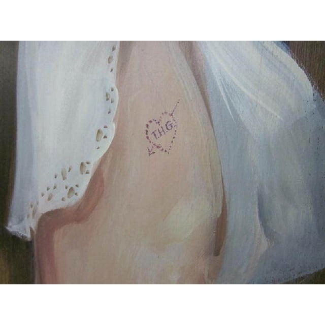 Large Painting of a Woman by Lee Ames For Sale - Image 4 of 9