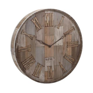 Wine Country Clock For Sale