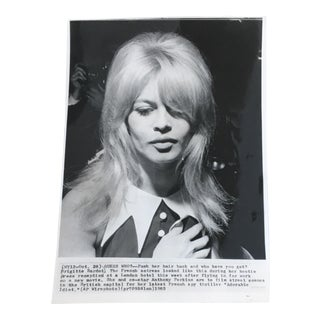 Vintage Brigitte Bardot Photograph, 1963 For Sale