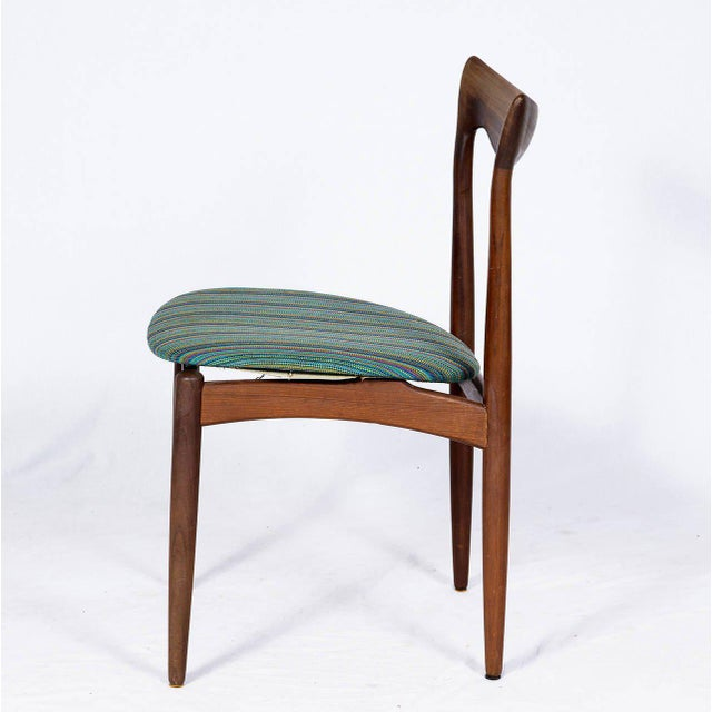 Set of Four Danish Dining Chairs For Sale - Image 4 of 10