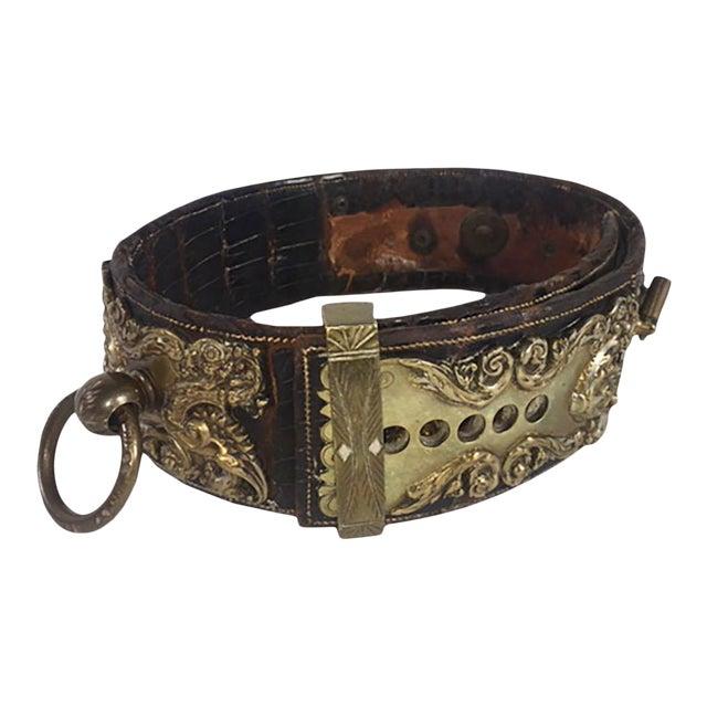 19th Century Dog Collar For Sale