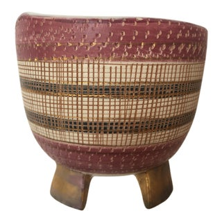 Italian Ceramic Bitossi Seta Compote Bowl