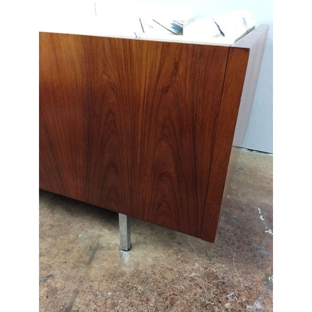Rosewood Low Back Cube Chair by Komfort of Denmark For Sale - Image 9 of 11