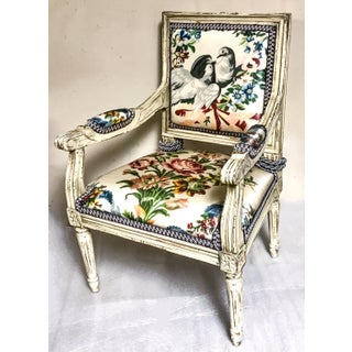 French Child's Bergere Chair Preview