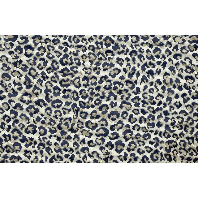 """Not Yet Made - Made To Order Stark Studio Rugs, Wildlife, Cobalt, 2'6"""" X 12' For Sale - Image 5 of 8"""