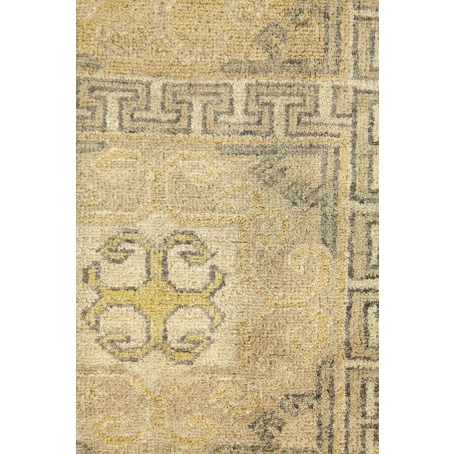 "Textile Traditional Hand-Knotted Area Rug 8' 0"" x 9' 8"" For Sale - Image 7 of 8"