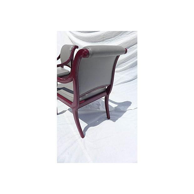 Century Hickory Armchairs - Pair For Sale In New York - Image 6 of 7
