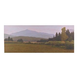 """Essex Field"" Adirondacks Painting"