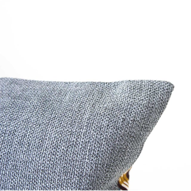 Yellow Wax Print Rectangular Pillow Cover - Image 5 of 5