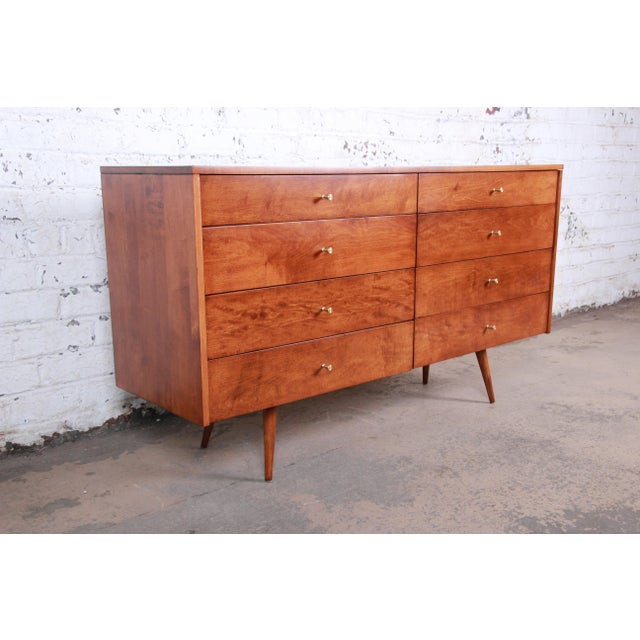Paul McCobb Planner Group Mid-Century Modern Long Dresser or Credenza, Newly Restored For Sale - Image 13 of 13