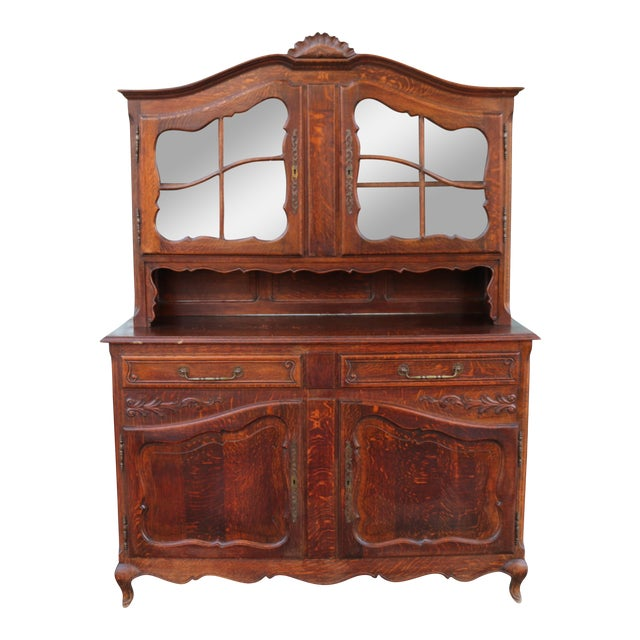 Antique Oak China Cabinet For Sale - Antique Oak China Cabinet Chairish