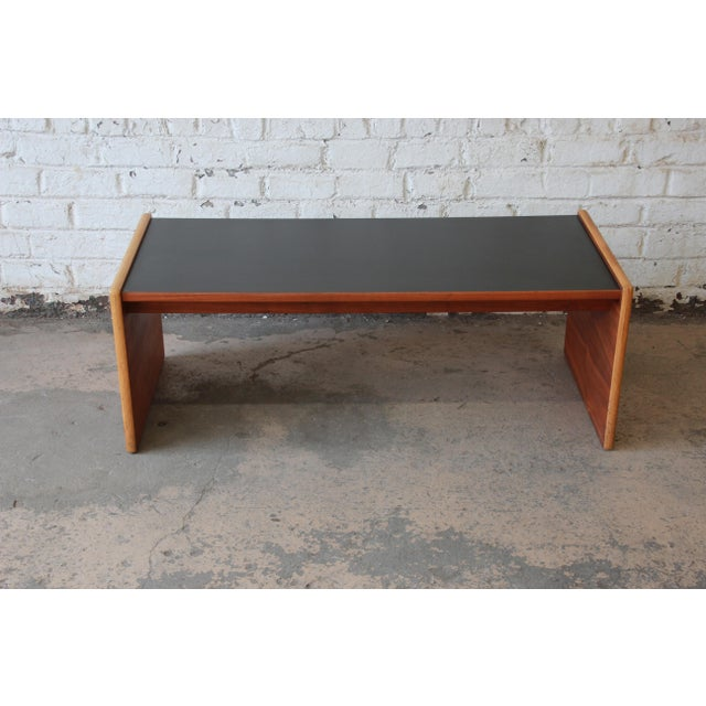 Jens Risom Mid-Century Modern Coffee Table or Bench For Sale - Image 5 of 9