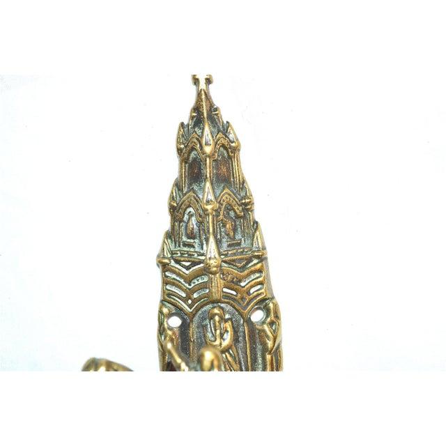 Gold Ireland's St. Brigid Door Knocker For Sale - Image 8 of 9