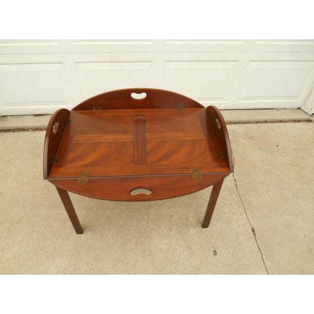 Vintage Baker Furniture Butler / Tray Table - Image 2 of 8 - Vintage Baker Furniture Butler / Tray Table Chairish