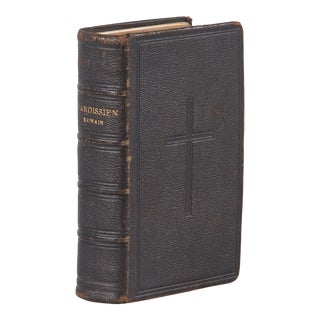 French Religious Missal Book- Paroissien Roman, 1880 For Sale