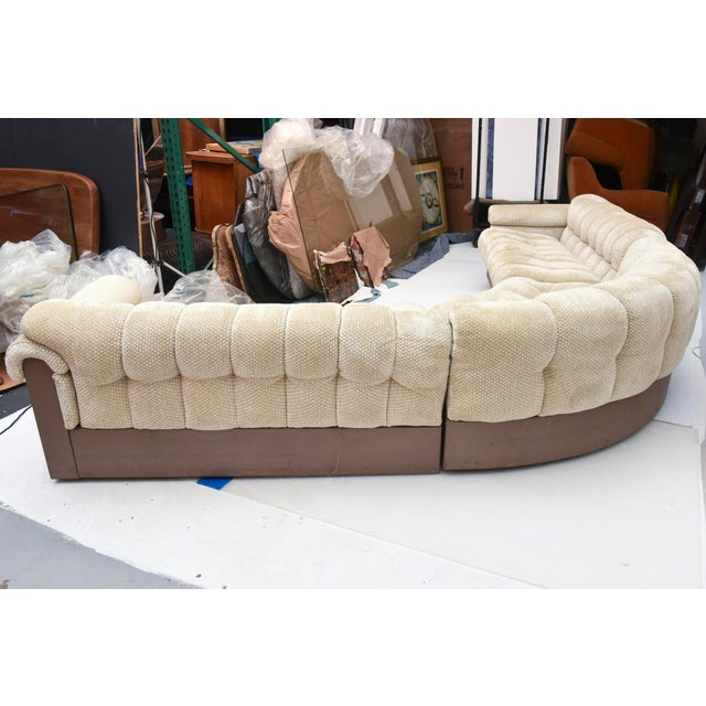 """American Modern """"Bounty Group"""" Sectional Sofa, Pace Collection by Davanzati For Sale - Image 9 of 9"""