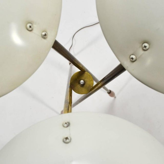 1950s Gerald Thurston Tripod Floor Lamp by Lightolier For Sale - Image 5 of 10