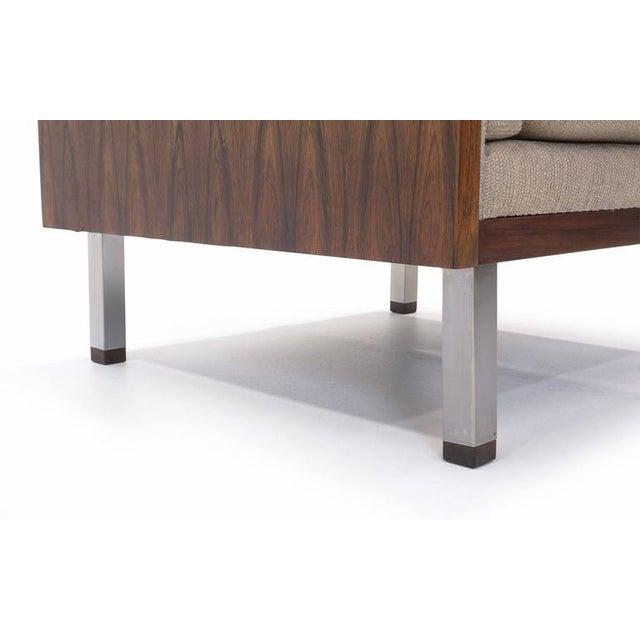 1960s Rosewood Case Lounge Chair by Jydsk Møbelværk For Sale - Image 5 of 5