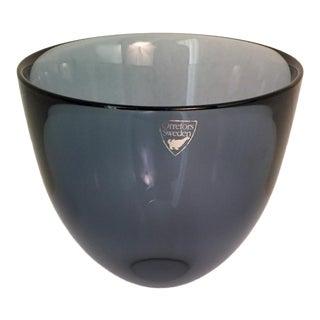 Orrefors Lena Bergstrom Pastillo Glass Bowl For Sale