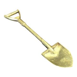 Vintage Brass Shovel Letter Opener For Sale