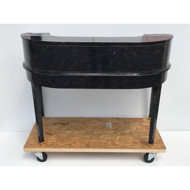 1970s 1970s Hollywood Regency Maitland Smith Tessellated Horn Carlton House Desk For Sale - Image 5 of 11