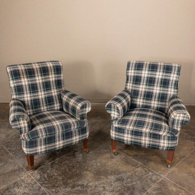 Pair Mid-Century Lounge Armchairs For Sale - Image 13 of 13