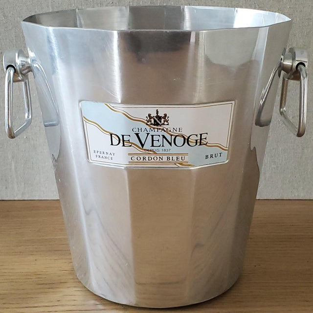 White French De Venoge Champagne Ice Bucket For Sale - Image 8 of 8